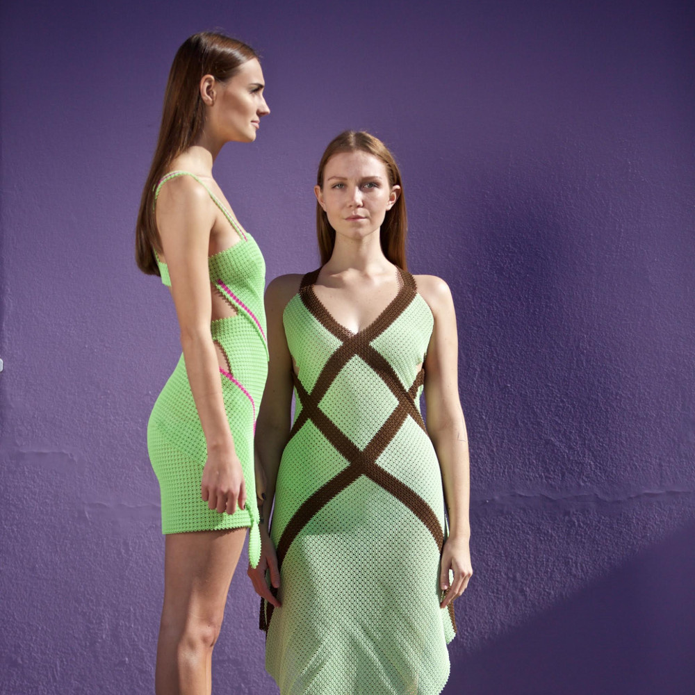 Modeclix Chocolate Mint Dress